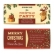 Christmas Banners Horizontal - GraphicRiver Item for Sale