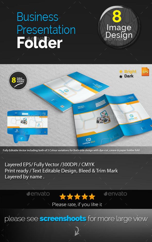GraphicRiver Corporate Presentation Folder 10021796