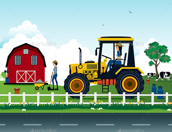 GraphicRiver Farmers 10021982
