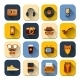 Hipster Icons Set - GraphicRiver Item for Sale