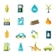 Bio Fuel Icons Set - GraphicRiver Item for Sale