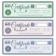 Gift Certificates Set - GraphicRiver Item for Sale