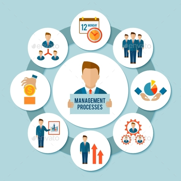 GraphicRiver Management Process Concept 10022167