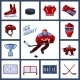 Hockey Icon Set - GraphicRiver Item for Sale