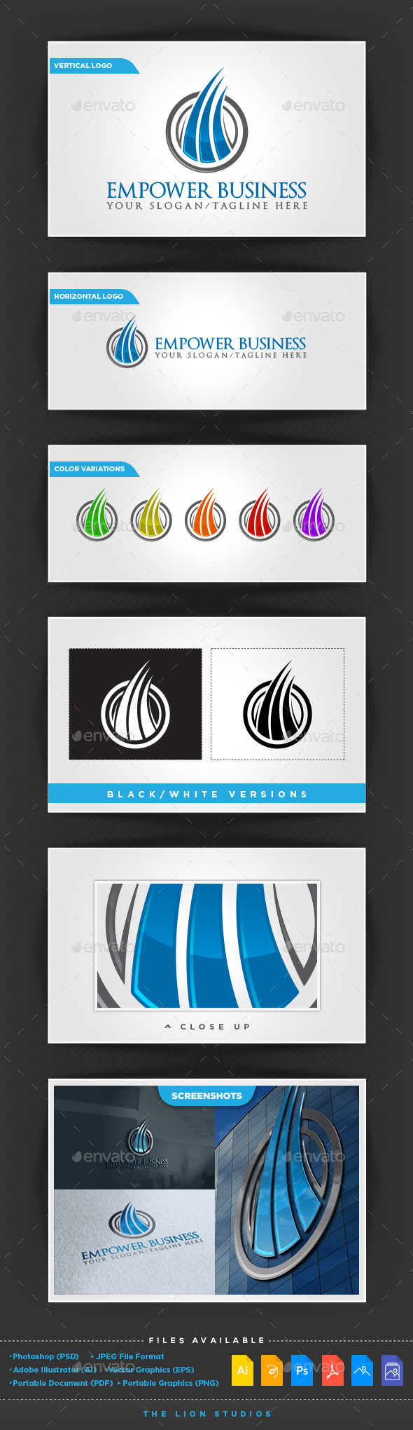 GraphicRiver Empower Business Logo 10022551
