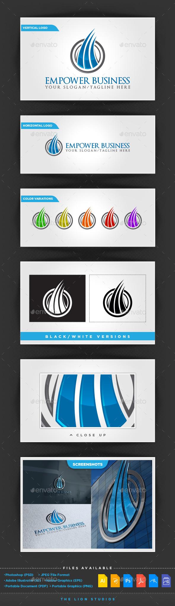 GraphicRiver Empower Business Logo 10022551