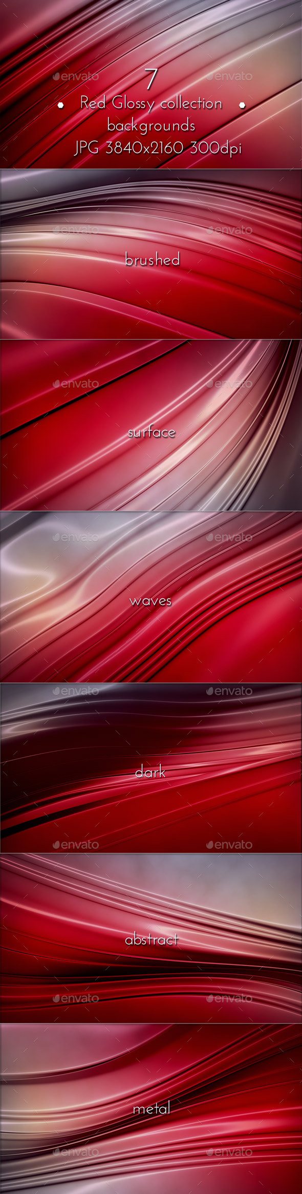 GraphicRiver Red Glossy Surface 10022592