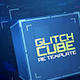 Glitch Cube Logo Intro - VideoHive Item for Sale