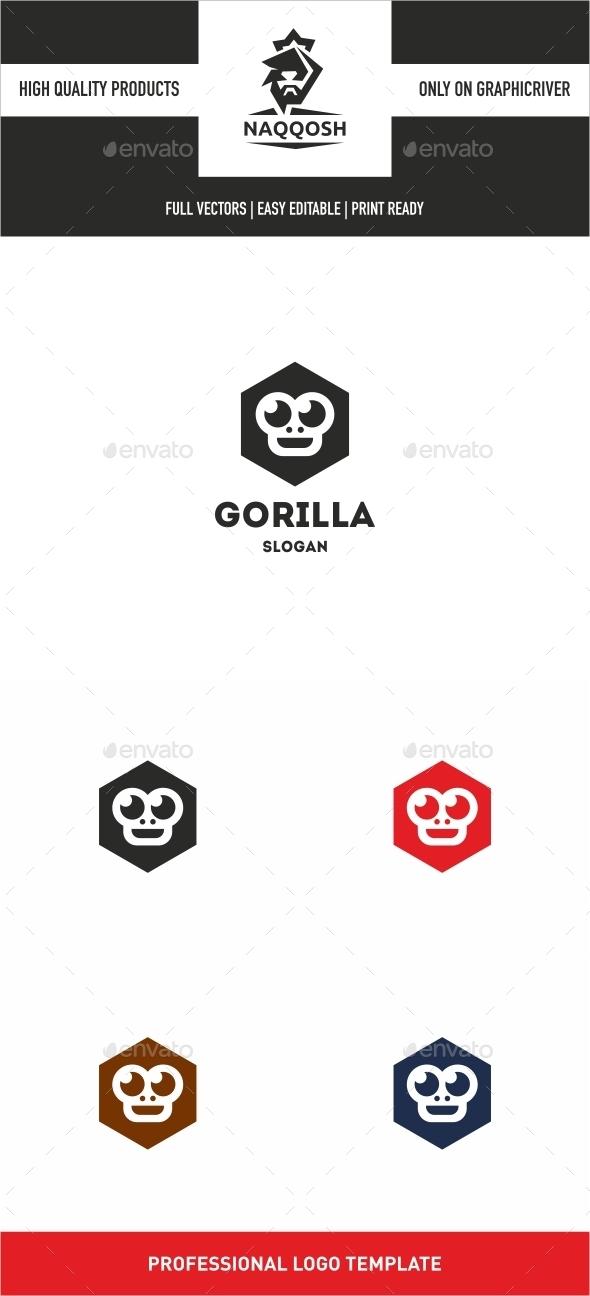 GraphicRiver Gorilla 10022735