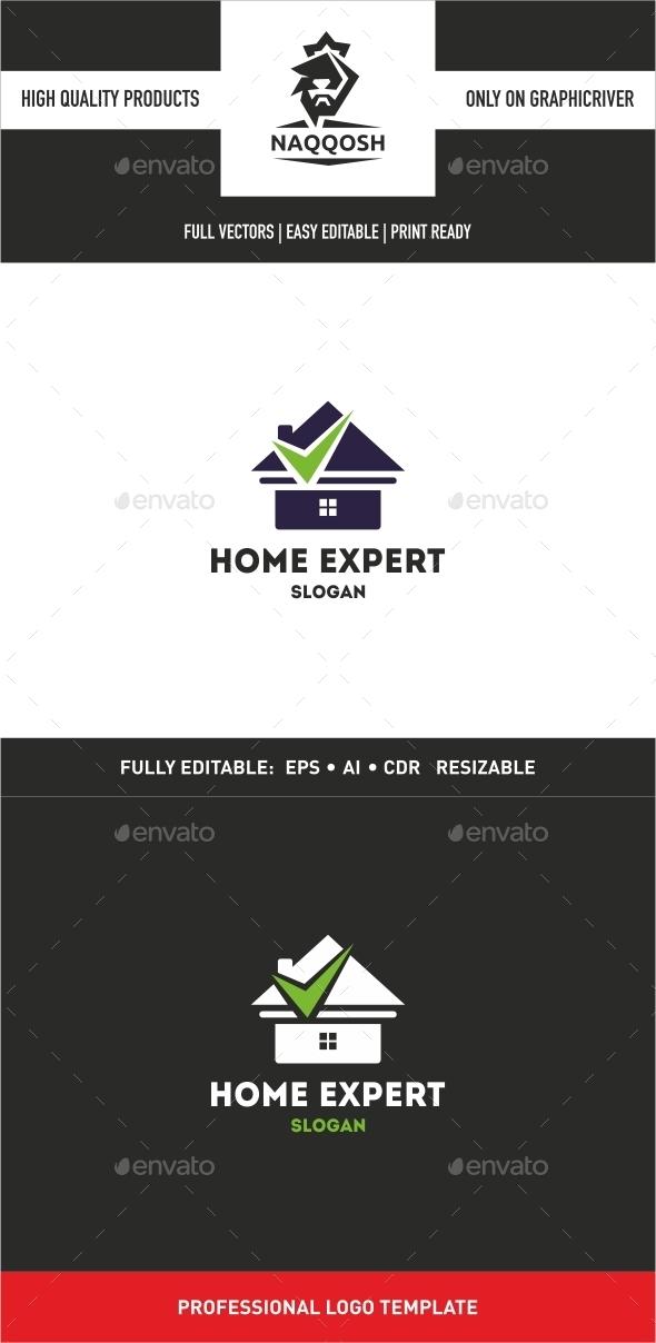 GraphicRiver Home Expert Logo 10022738