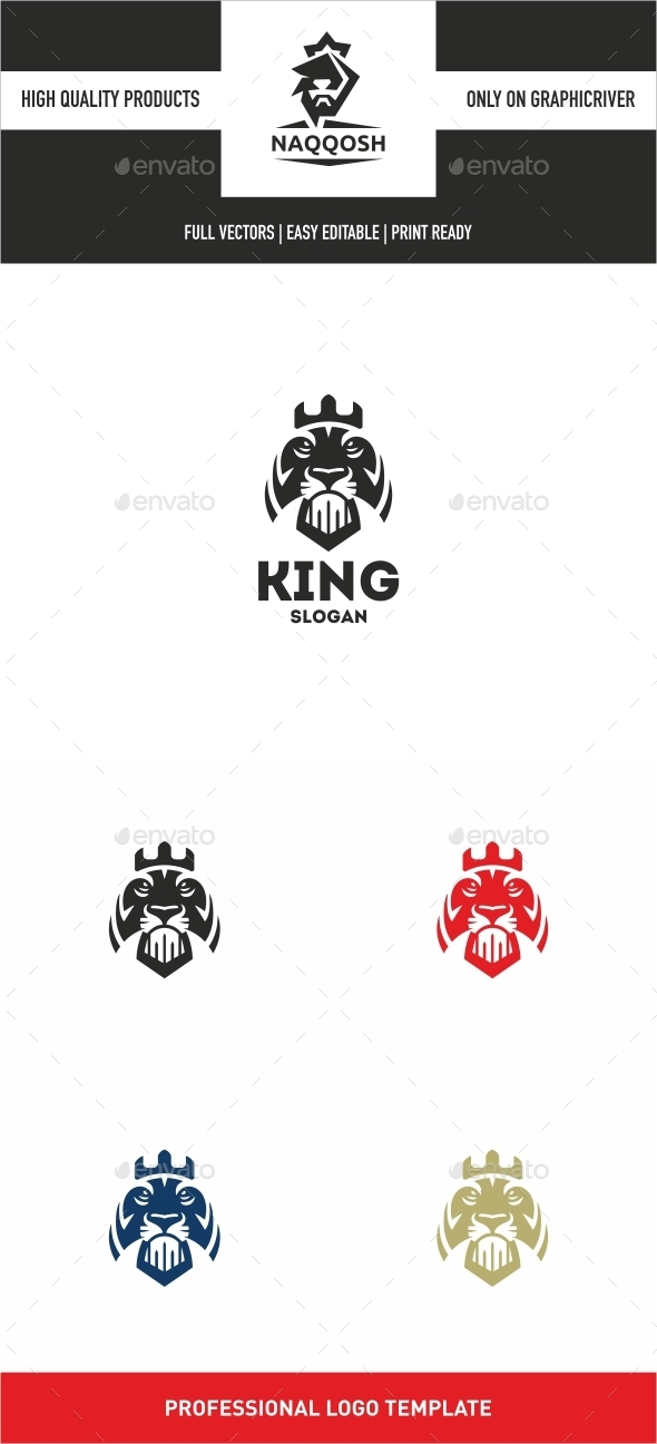 GraphicRiver King Lion 10022742
