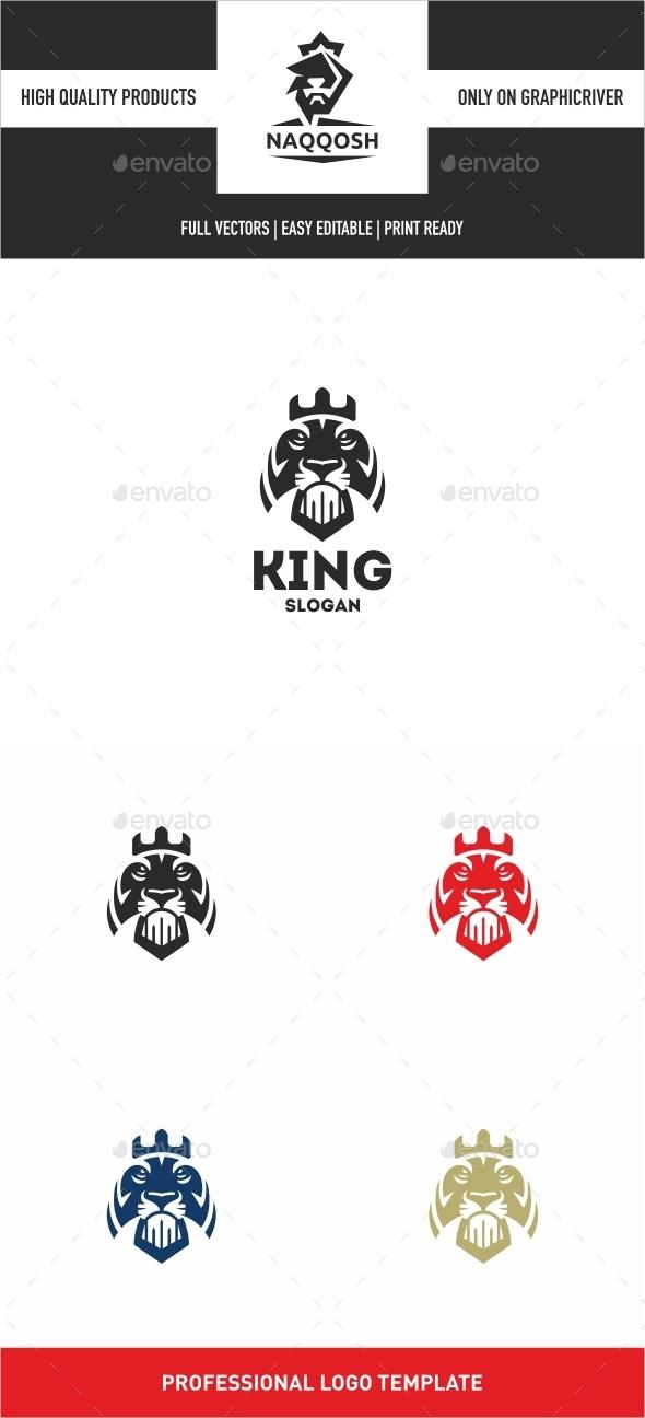 GraphicRiver King Lion 10022742