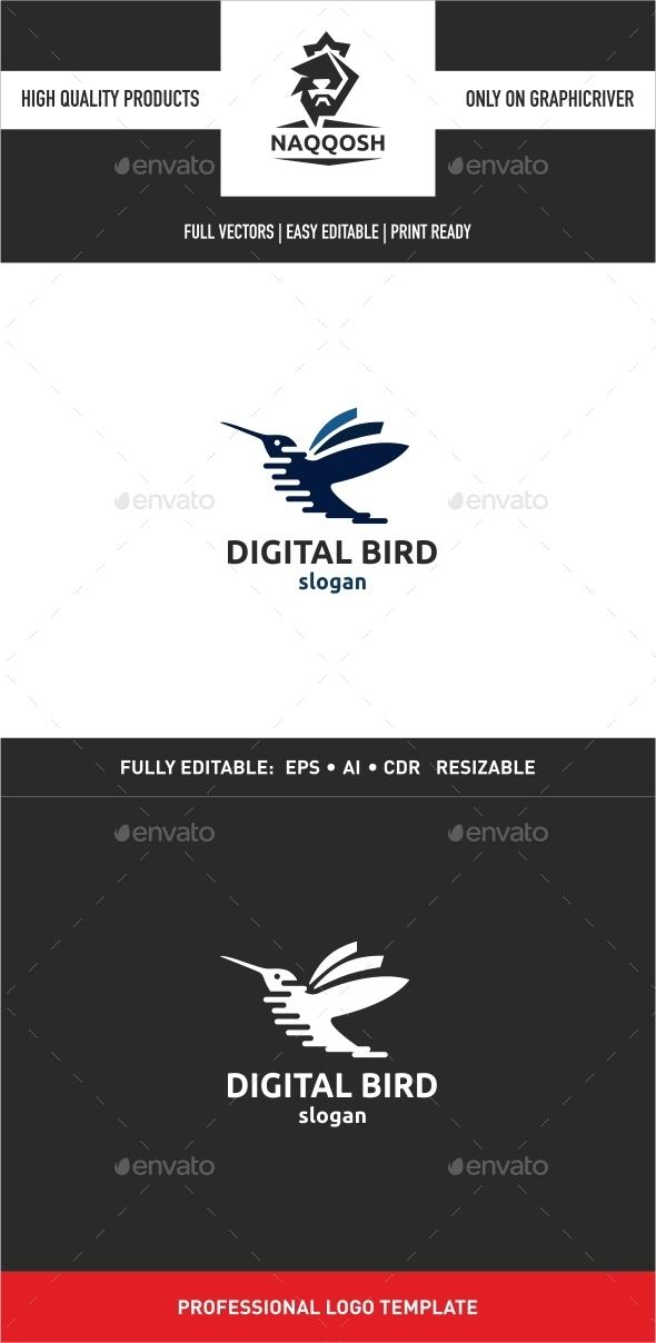 GraphicRiver Digital Bird 10022795