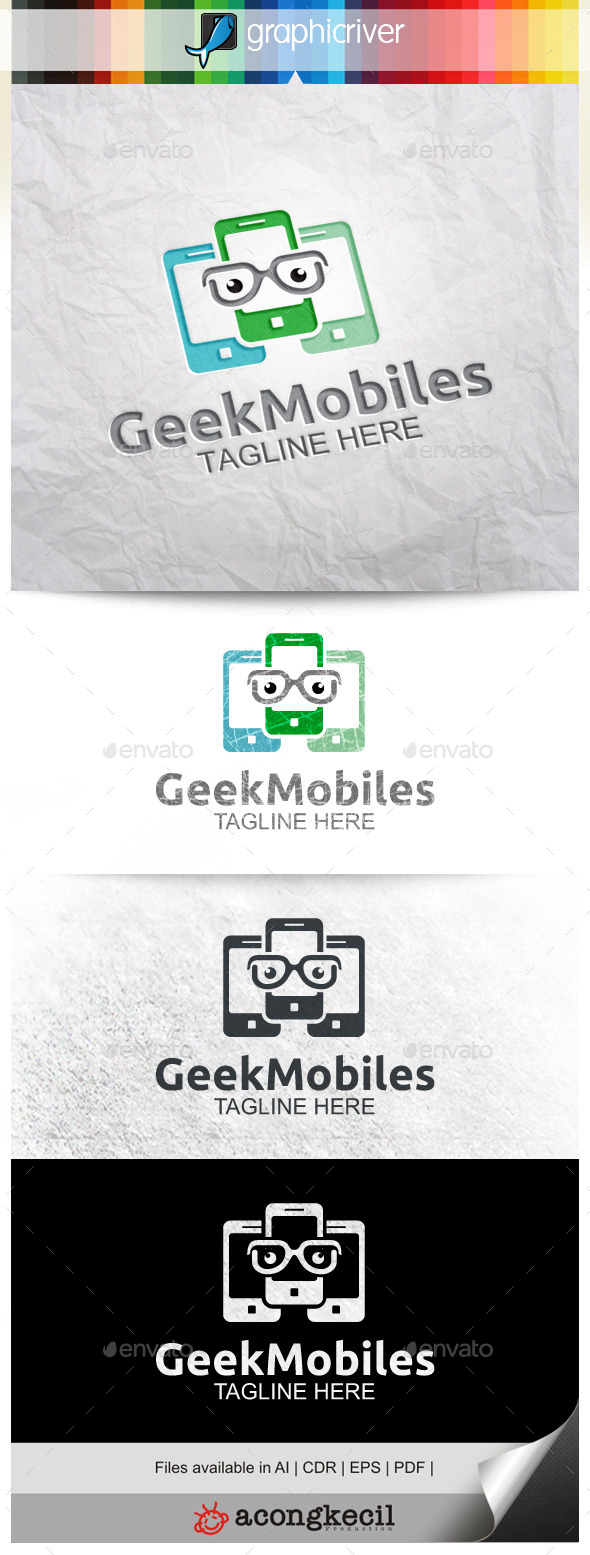 GraphicRiver Geek Mobils 10022900