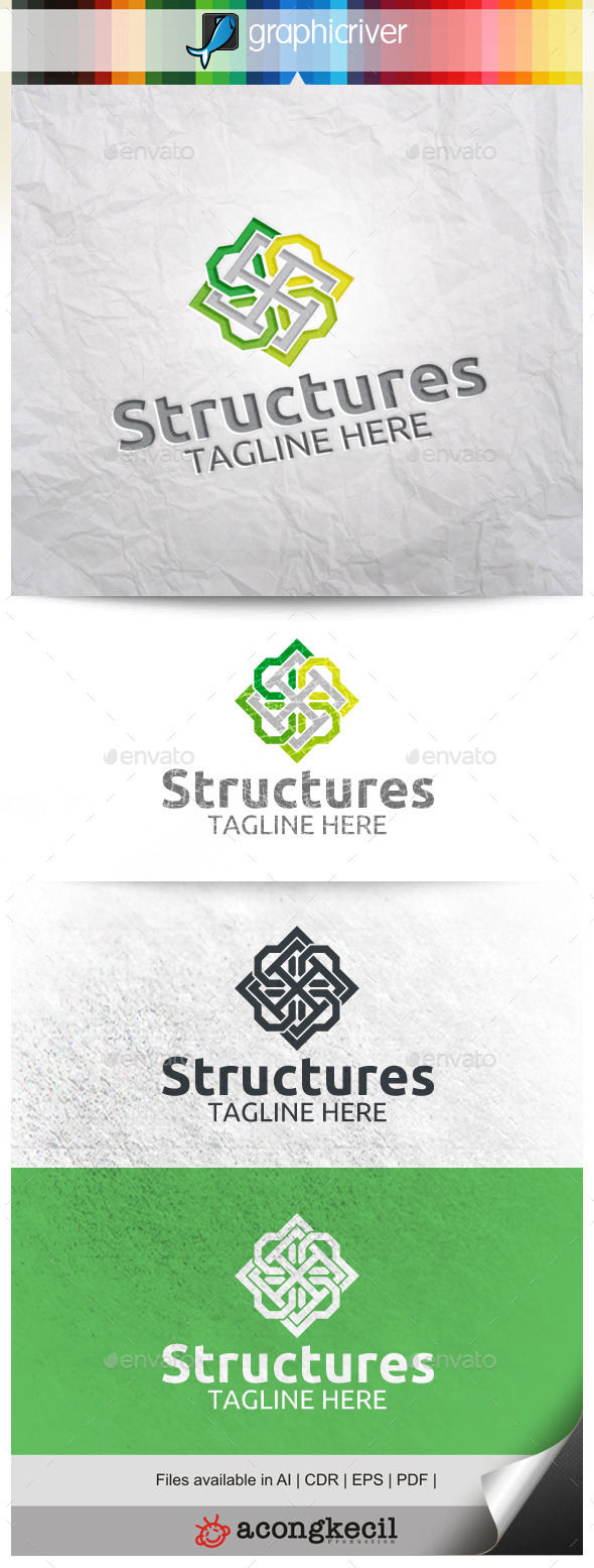 GraphicRiver Structures V.4 10022911
