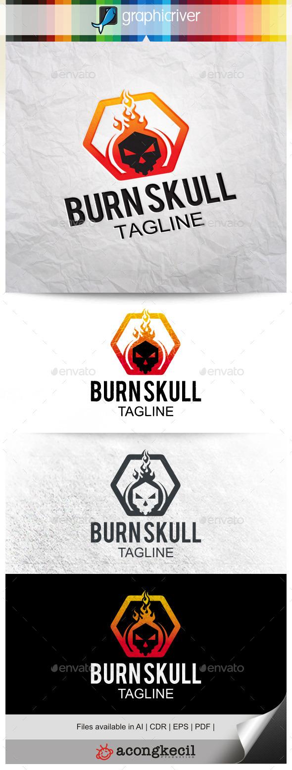 GraphicRiver Burn Skull 10022978