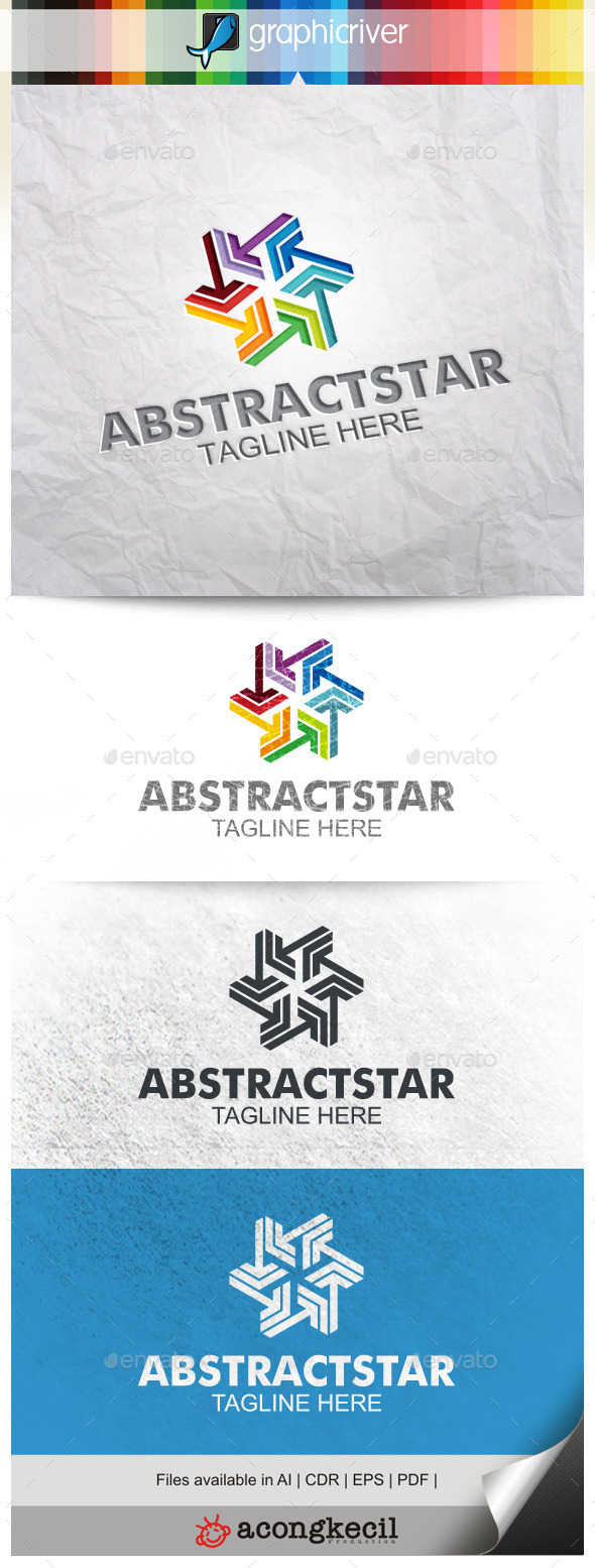 GraphicRiver Abstract Star V.4 10023142