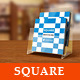 Elegant Square Brochure Template - GraphicRiver Item for Sale