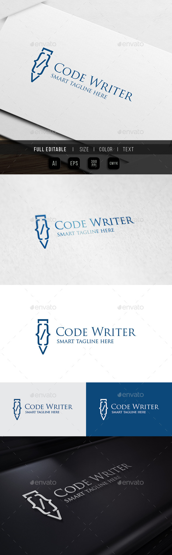 GraphicRiver Pen Code Coding Turorial 10023190