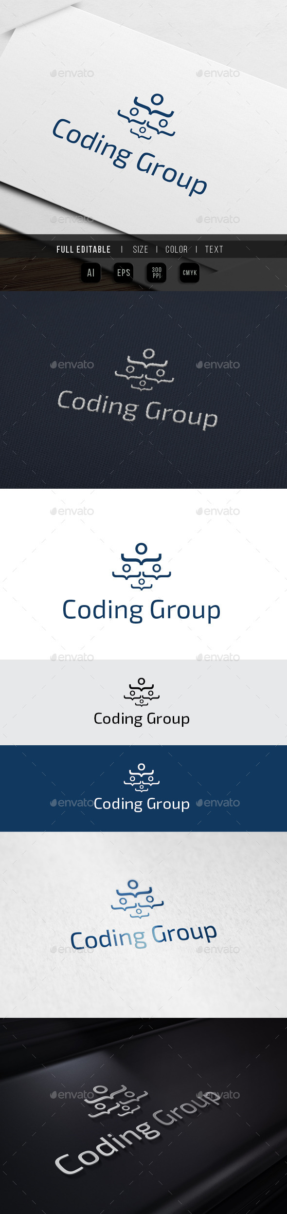 GraphicRiver Coding Group Geek Chat 10023201