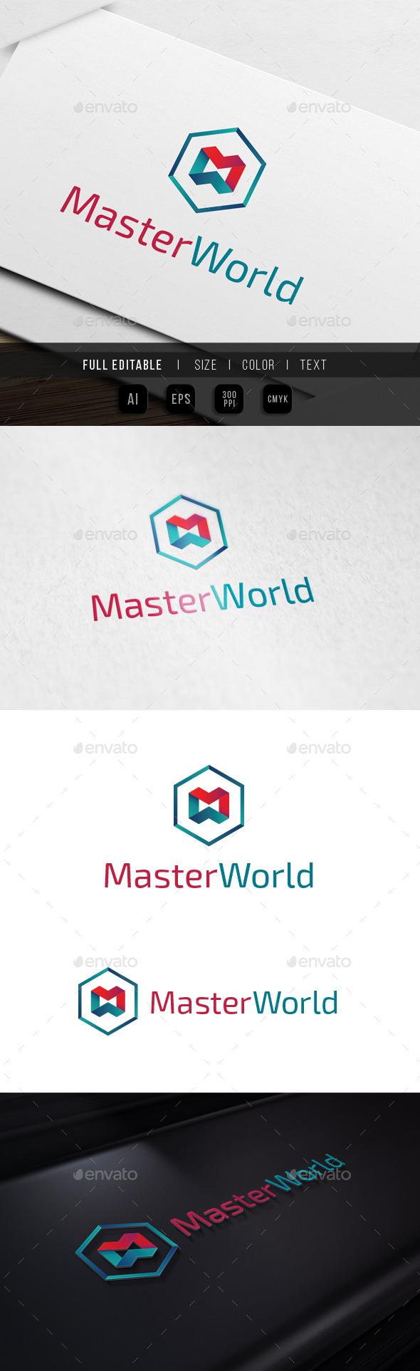 Master World M W Hexagon