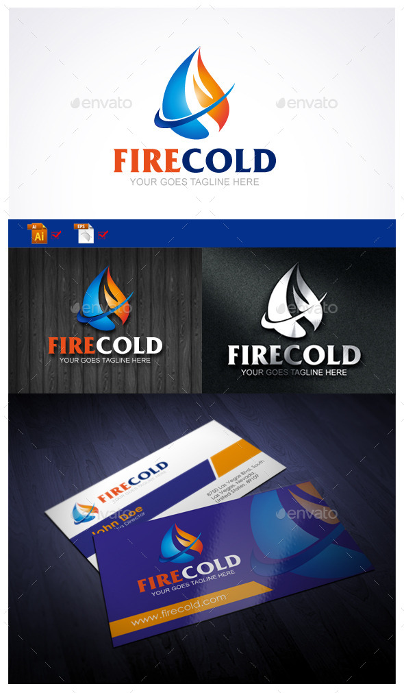 GraphicRiver Fire Cold 10023319