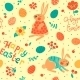 Happy Easter Seamless Pattern - GraphicRiver Item for Sale