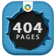 404 Pages - 4 Designs - GraphicRiver Item for Sale