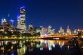 Melbourne Skyline at Dusk - PhotoDune Item for Sale