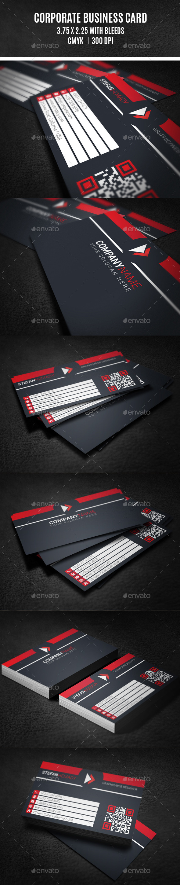 GraphicRiver Corporate Business Card 10023966