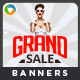 Grand Sale Banners - GraphicRiver Item for Sale