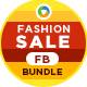 Fashion Sale FB Cover Bundle - 10 Designs - GraphicRiver Item for Sale