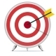 Target with an Arrow in the Center - GraphicRiver Item for Sale