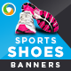 Online shoes shopping banners - GraphicRiver Item for Sale