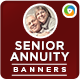 Senior Annuity Banners - GraphicRiver Item for Sale