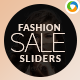Fashion Sale Sliders - 2 designs - GraphicRiver Item for Sale