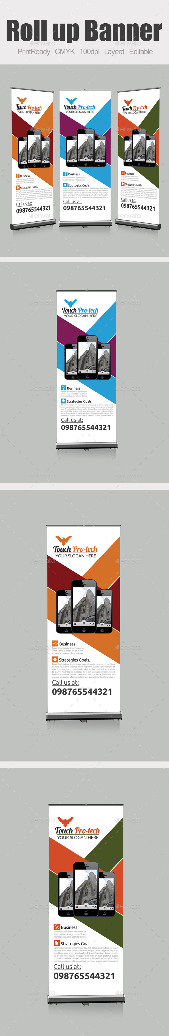 GraphicRiver Roll Up Business Banners 10024782