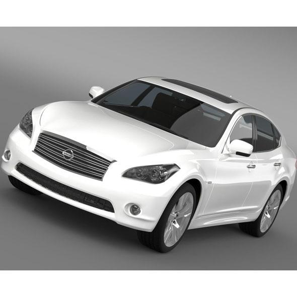 3DOcean Nissan Fuga Y51 10024899