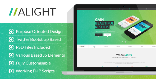 ThemeForest Alight Multipurpose HTML Template 9967432
