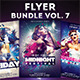 Flyer Bundle vol.7 - GraphicRiver Item for Sale