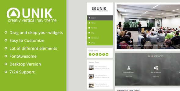 ThemeForest Unik Ultimate Muse Template 10025435