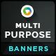 Multi Purpose Corporate Banners - GraphicRiver Item for Sale