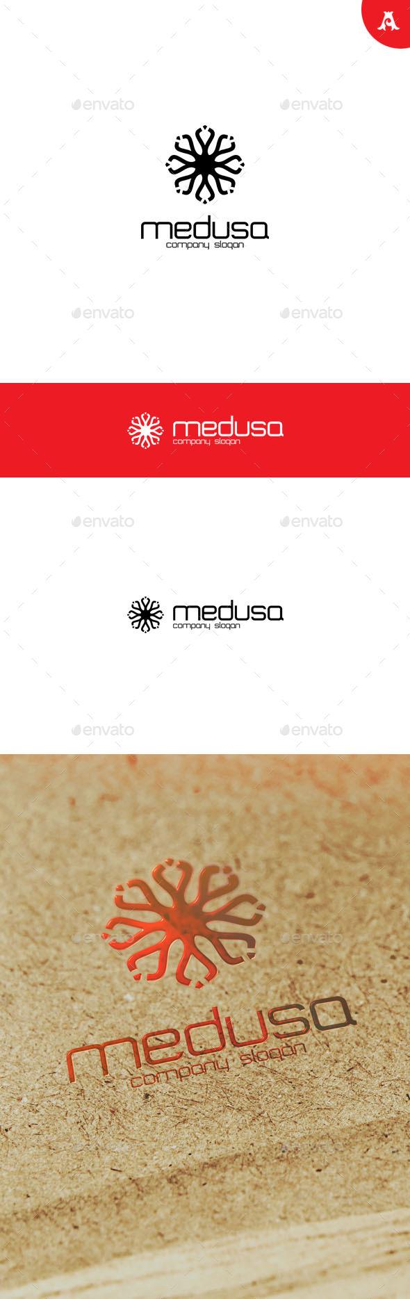 GraphicRiver Medusa Logo 10025846