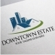 Downtown Estate Logo - GraphicRiver Item for Sale