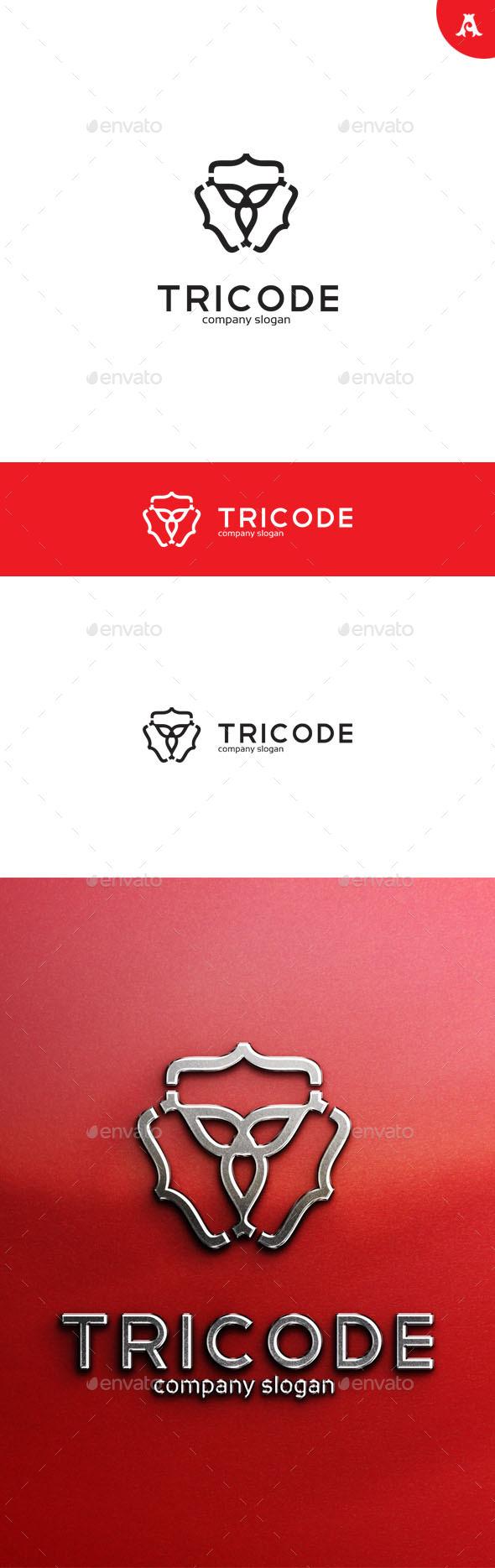 GraphicRiver Tricode Logo 10026095