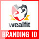 WealFit | Fitness - Gym Branding Identity Pack - GraphicRiver Item for Sale