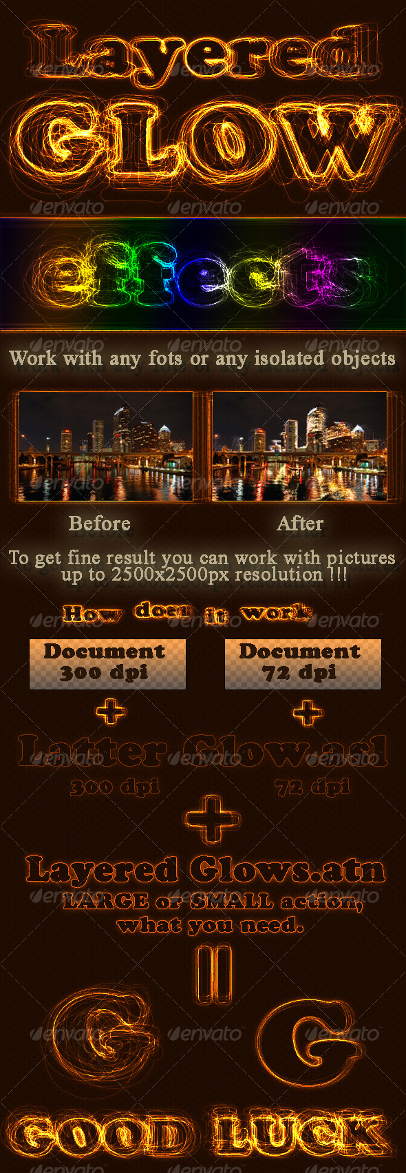 GraphicRiver Layered Glow effects 126651
