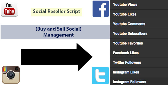 CodeCanyon Social Reseller Panel 9995979