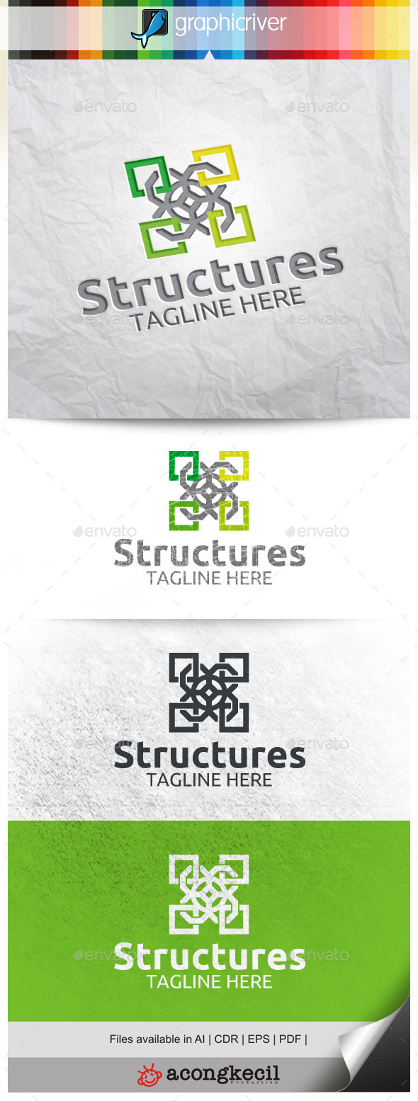GraphicRiver Structures V.5 10026559
