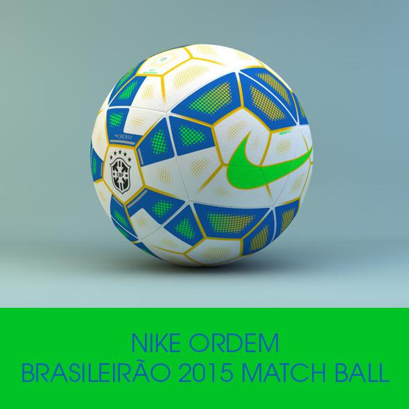 3DOcean Nike Ordem Brasileir o Official 2015 Ball 10026633